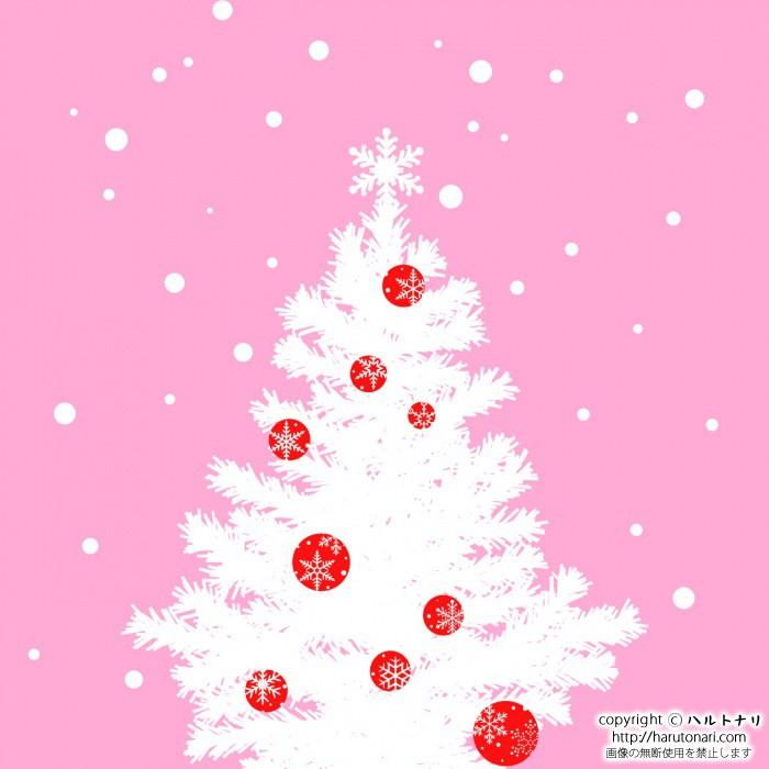 white tree of christmas